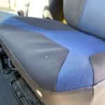 Tissu d'origine - bleu & gris